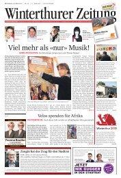 Viel mehr als «nur» Musik! - EAMF 2012 Winterthur
