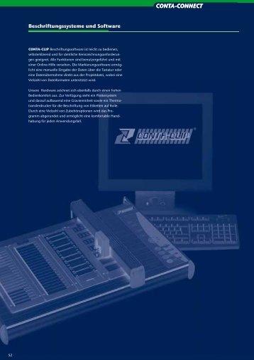 Beschriftungssysteme und Software