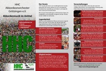 Musikalische Aus- und Weiterbildung - HHC Akkordeonorchester ...