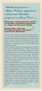 Schabbat Lieder Konzert - Fakten - Seite 2