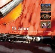 15 Jahre musikalische Kulturarbeit - Freie Waldorfschule Eckernförde