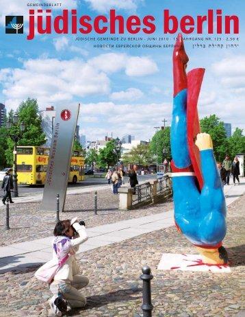 2010 - Jüdische Gemeinde zu Berlin