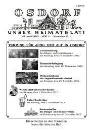 Kultur im Heidbarghof Osdorf - Soeth-Verlag