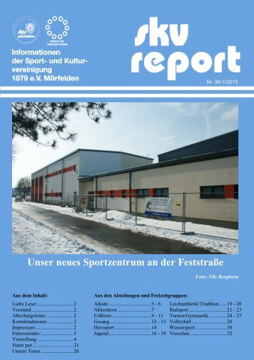 Unser neues Sportzentrum an der Feststraße - SKV Mörfelden