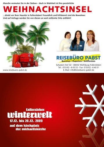 winterwelt - Blickpunkt Fallersleben