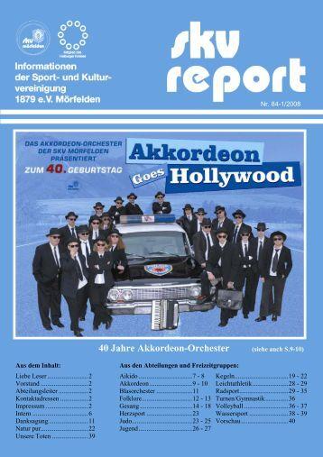 40 Jahre Akkordeon-Orchester - SKV Mörfelden