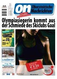 Mehr auf Seite 22 - Obersteirische Nachrichten