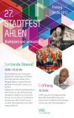 Das Programm des 27. Ahlener Stadtfestes wird wie - der Stadt Ahlen - Seite 2