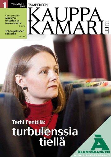Kauppa Kamari - Tampereen kauppakamarilehti
