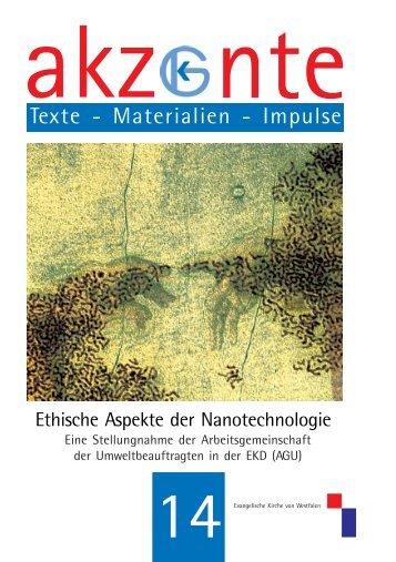 Ethische Aspekte der Nanotechnologie - CEC