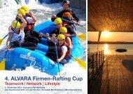 4. ALVARA Firmen-Rafting Cup Teamwork | Network | Lifestyle