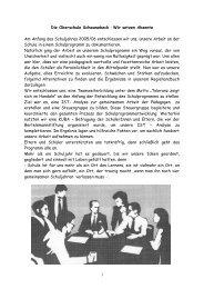 Die Oberschule Schwanebeck - Wir setzen Akzente