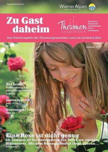 Zu Gast Sommer 2012 (7,85 MB) - .PDF - Marktgemeinde Bad Erlach