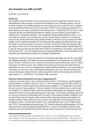 Das Islambild von ARD und ZDF - Deutsche Islam Konferenz