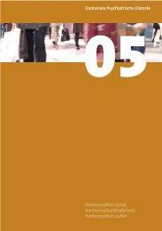 Geschäftsbericht (pdf, 1Mb) - Psychiatrie Baselland PBL