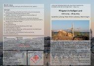Pfingsten im Heiligen Land vom 17.05. - 28.05.2013 - Deutscher ...