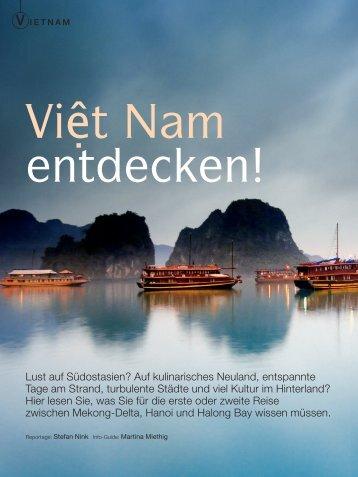 abenteuer & reise Heft Dez. 2012 - Vietnam - Travel Service Asia