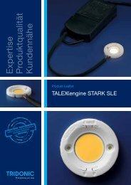 Leaflet TALEXXengine STARK SLE