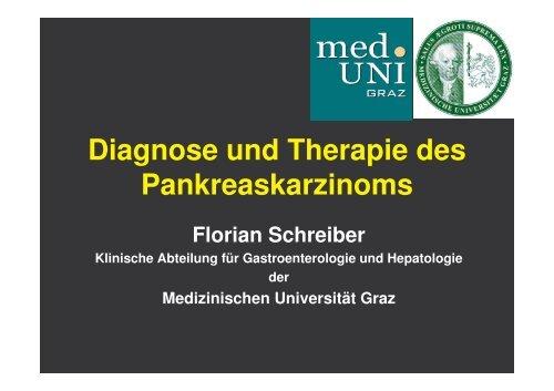 Diagnose und Therapie des Pankreaskarzinoms - Medizinische ...