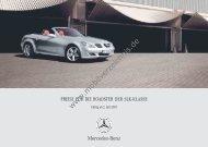 Preisliste Mercedes SLK, 7/2007 - mobilverzeichnis.de