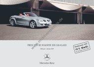Preisliste Mercedes SLK, 1/2007 - mobilverzeichnis.de