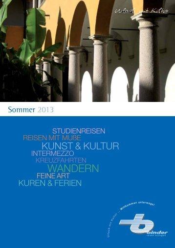 WANDERN - Binder Reisen Stuttgart