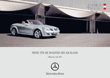 Mercedes-Benz - Masser Jahreswagen