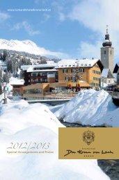 Spezial-Arrangements - Hotel Krone