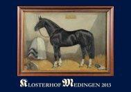Breeding, schooling - Klosterhof Medingen
