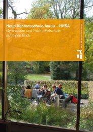 Neue Kantonsschule Aarau – NKSA Gymnasium und ...
