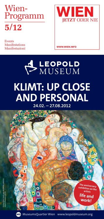 KLIMT: UP CLOSE AND PERSONAL - Austrian National Tourist Office