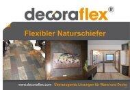 Flexibler Naturschiefer