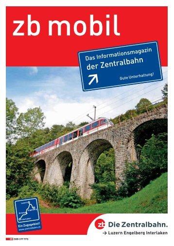 Ihre zuverlässige Partnerin für Gleisschotter, Hartsplitt ... - Zentralbahn