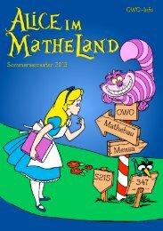 OWO-Info - Fachbereich Mathematik - Technische Universität ...