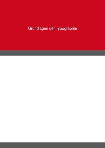 Grundlagen der Typographie - Tutorials.de