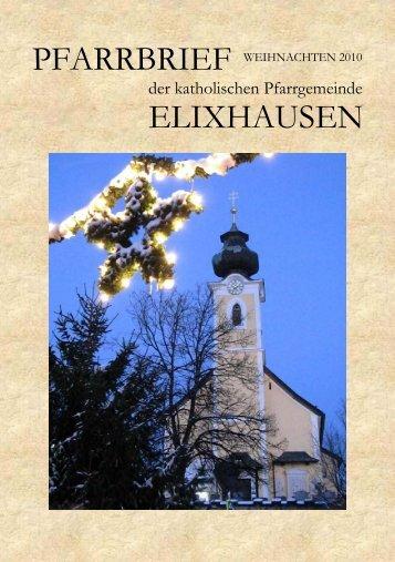 Weihnachten - Pfarre Elixhausen