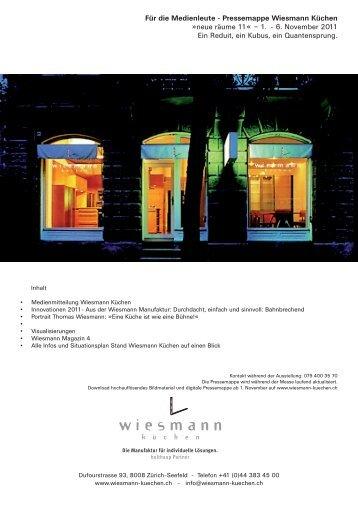 10 Free Magazines From Wiesmann Kuechen Ch