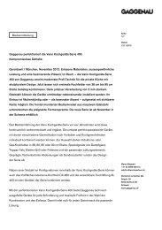 Gaggenau perfektioniert die Vario Kochgeräte ... - by rp-press.com