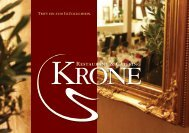 Restaurant & Catering - Krone