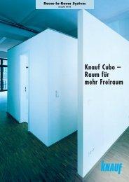 Knauf Cubo – Raum für mehr Freiraum