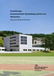 Erweiterung Kantonsschulen Rychenberg und Im Lee Winterthur ...
