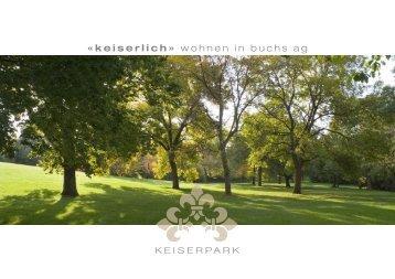 ‹Keiserpark›. - Hofstetter & Partner Immobilien Treuhand AG