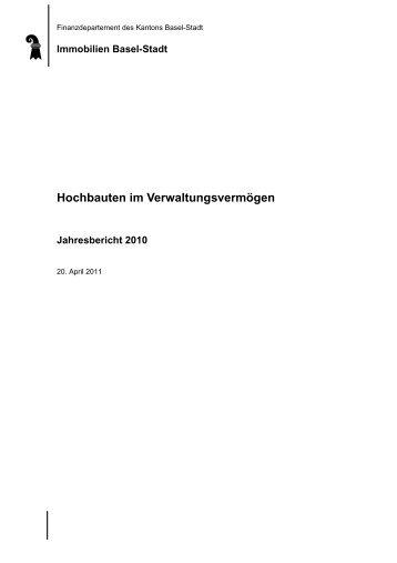Immobilien Basel-Stadt Hochbauten im Verwaltungsvermögen ...