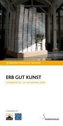 ERB GUT KUNST - Arbeitskreis Kunsthandel