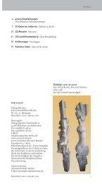 1 Dezember 2010 – Januar 2011 INHALT Impressum ... - artery Berlin