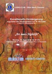 """Art meets Nightlife"" - Susanne Sophia Schick"