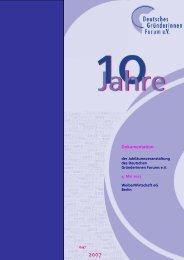 Literatur - Deutsches Gründerinnen Forum eV