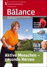 Zeitschrift Balance Nr. 3 (PDF) - gesundheit.bs.ch - Kanton Basel-Stadt