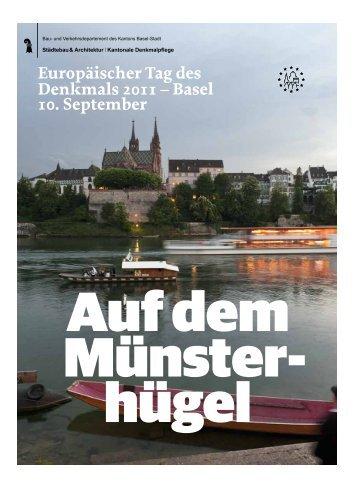 Europäischer Tag des Denkmals 2011 - Denkmalpflege - Kanton ...