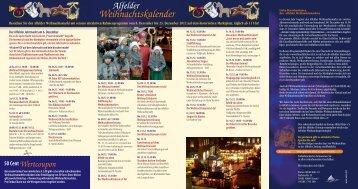 lfelder 7eihnachtskalender - Stadt Alfeld